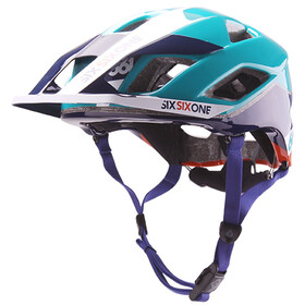 SixSixOne EVO AM Bike Helmet teal